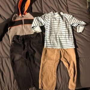 Toddler Boys size 3t all 4 for $15.